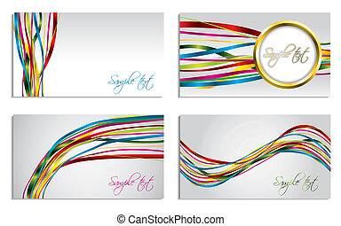 Ribbon business set