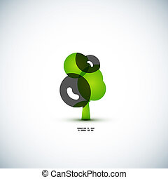Eco green tree concept
