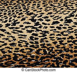 Wild animal skin pattern - material