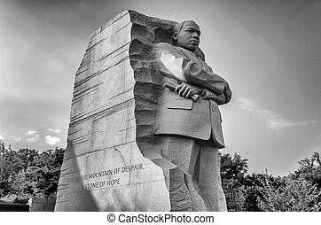 Martin Luther King Jr Memorial, Washington DC - WASHINGTON,...