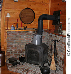 Yesteryear - Old fashioned kitchen with convenience of...