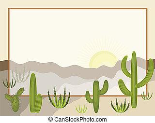 Desert ,frame