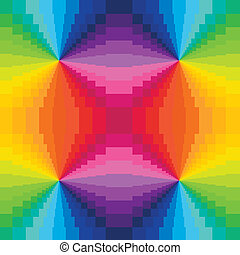 Abstract Rainbow Colors Background - Abstract optic effect...