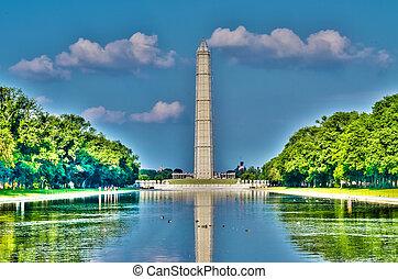 Washington Monument and Reflecting Pool, Washington DC