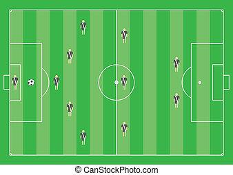5-3-2 soccer tactical scheme