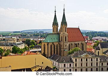 St. Moritz cathedral in Kromeriz, Czech Republic - St....