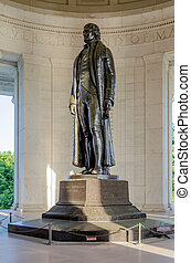Thomas Jefferson Memorial in Washington DC - Thomas...