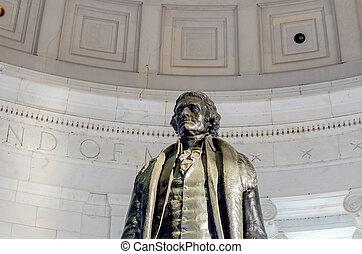 Thomas Jefferson Memorial in Washington DC - Thomas...