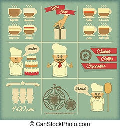 Cover Menu for Bakery