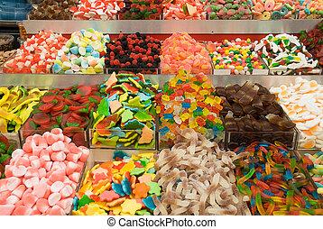 Cukierek, słodycze