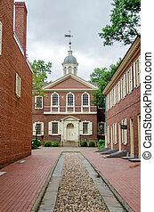 Carpenters Hall, Philadelphia, USA