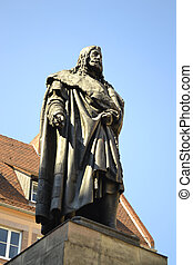 Albrecht Durer Monument in Nuremberg, Germany