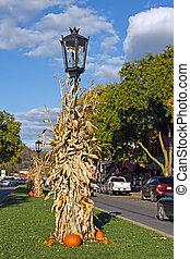 Autumn Street Scene - Main Street...