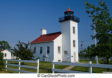 Sand Point Lighthouse, Escanaba, MI