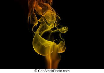 Flame Smoke