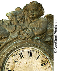 Angel in time - Clock without pointers and angel represent...
