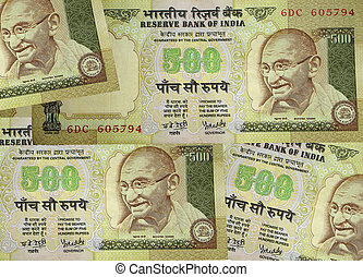 Indian Currency - Currency of India: Five hundred rupee...