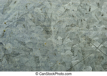 Close up on zinc plate texture background