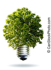 renovável, energia, conceito