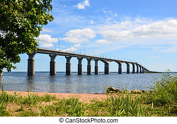 Oland Bridge, Sweden - Oland Bridge connecting the island...