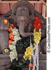Ganesha is an hindu god,