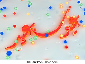 Eid Saeed - Arabic Islamic calligraphy of text Eid Saeed