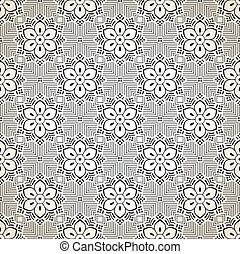 Seamless fancy floral wallpaper
