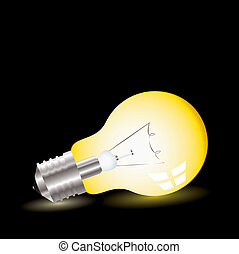 light bulb lean