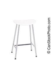 White Stool - A white stool on a white background