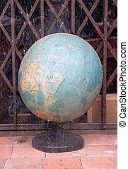 Globe on sale at a secondhand goods dealer France