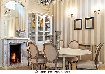 Vintage mansion - dining room - Vintage mansion - a cosy...