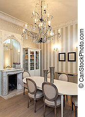 Vintage mansion - luxurious interior - Vintage mansion - a...