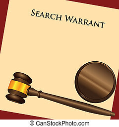 Search Warrant - The law enforcement system - a search...