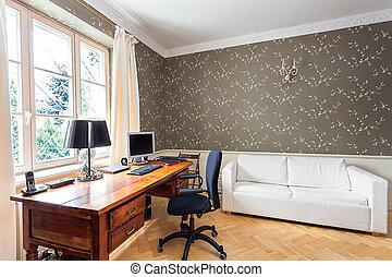 Vintage mansion - office