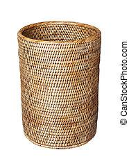 Basket, weave pattern