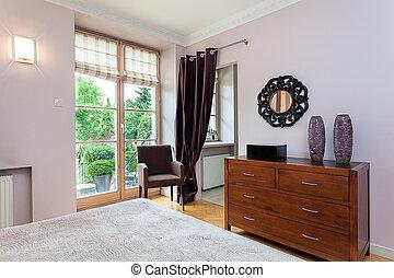 Vintage mansion - wardrobe - Vintage mansion - a wooden...