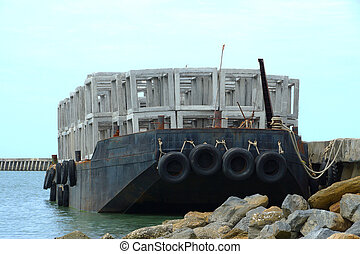 Ship artificial reef