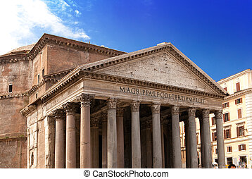 Italy. Rome. An ancient Pantheon