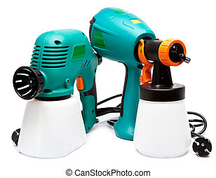 two different construction electrical spray gun for...
