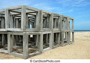 Artificial cube Reef