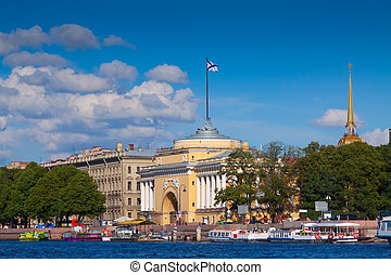 Admiralty building, Saint Petersburg - Admiralty building...