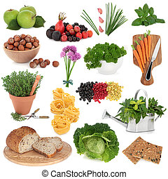 Healthy Food Sampler - Large health food selection over...