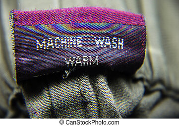 General Clothing Washing Instructions - Follow the...