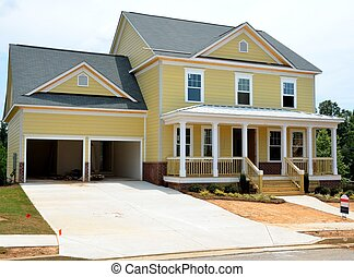 New Home Construction - New home being constructed to sell...