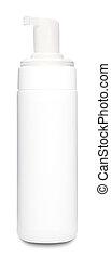 White Deodorant Bottle Template