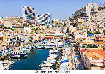 Vallon des Auffes, Marseilles