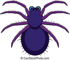 Tarantula Cartoon - vector illustration of Tarantula Cartoon