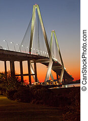 The Arthur Ravenel Jr bridge, - Bridge over the Cooper River...