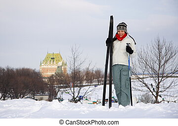 Skiing in Quebec City