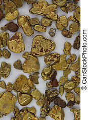 California USA Placer Gold Nuggets - Natural California USA...